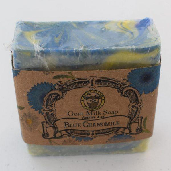 SBSO-BC Blue Chamomile Goat Milk Soap