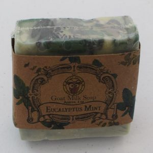 SBSO-EM Eucalyptus Mint Goat Milk Soap
