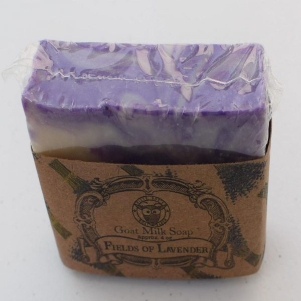 SBSO-FL Fields of Lavender Goat Milk Soap