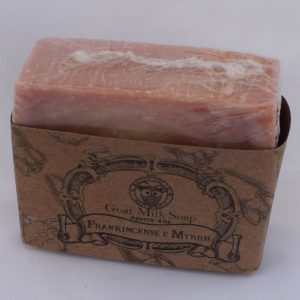 SBSO-FM Frankincense and Myhrr Goat Milk Soap