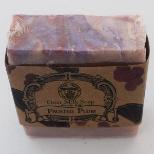 SBSO-FP Frosted Plum Goat Milk Soap