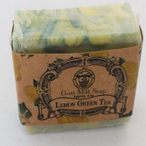 SBSO-GT Lemon Green Tea Goat Milk Soap