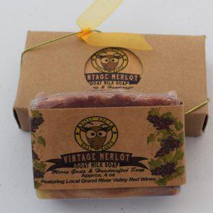 SBSO-VM Vintage Merlot Goat Milk Soap