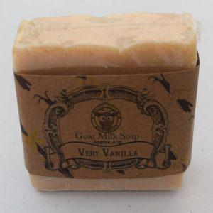 SBSO-WV Warm Vanilla Goat Milk Soap