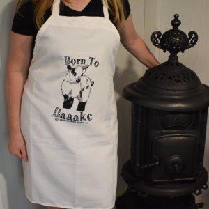 WABB Born to Bake Apron