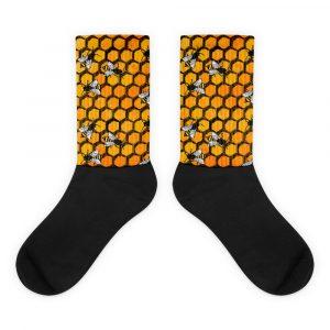 WSBE Buzzrific Bee Socks