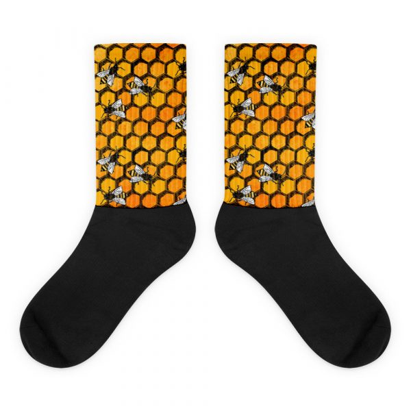 WSBE Buzzrific Bee Socks