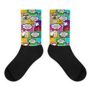 WSGD Comic Goat Socks