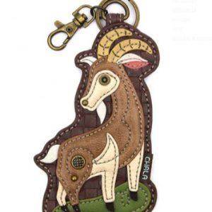 Goat Key FOB/Coin Purse